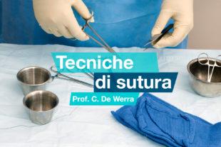 Corso di sutura a cura del prof. C. De Werra